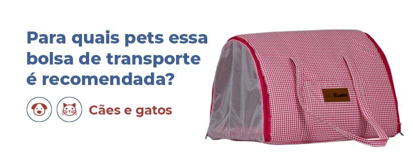 BOLSA DE TRANSPORTE PARA CÃES E GATOS TURIN