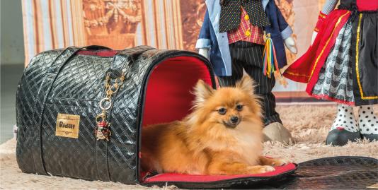 Pingente Bolsa Transporte Modelo Veneza Cachorros e Gatos Ridelf