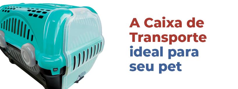Caixa De Transporte Para Cachorro E Gato Ridelf