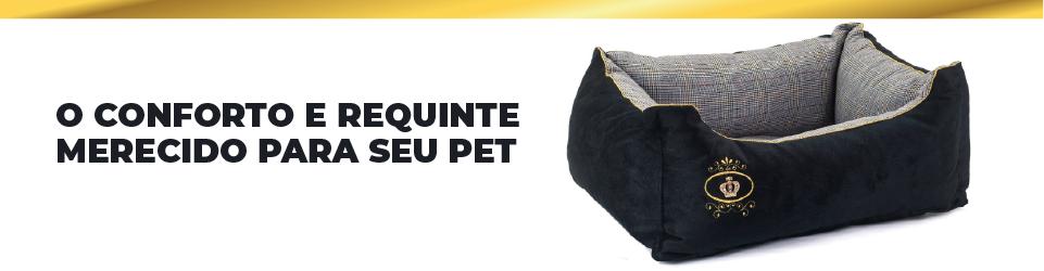 Conforto e requinte merecido para seu pet com a caminha retangular para cachorros e gatos modelo retangular escocesa