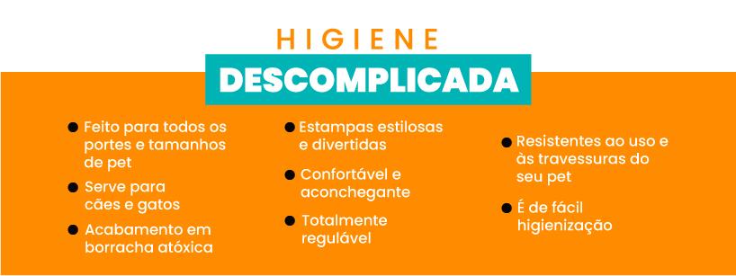 Higiene Descomplicada - Coleira para Cachorro e Gato Modelo Poly Abacaxi