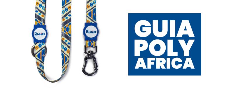 Guia para Cachorros e Gatos Modelo Poly Africa