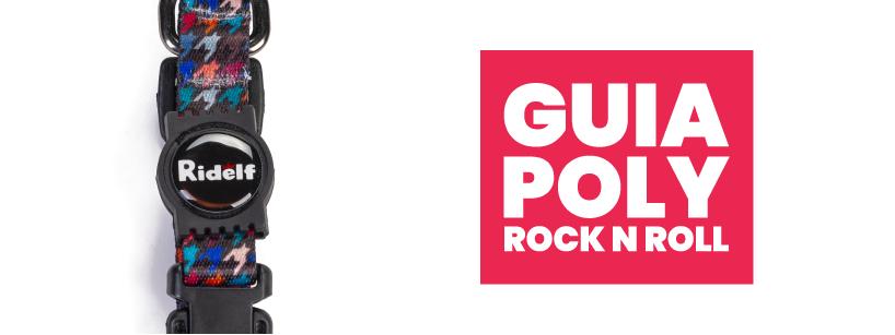 Guia para Cachorros e Gatos Modelo Poly Rock n Roll