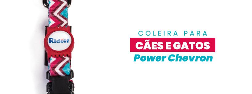Coleira Ridelf Power Chevron