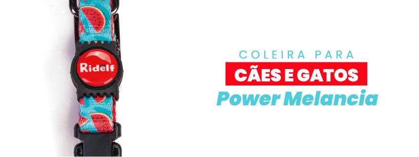Coleira Ridelf Power Melancia