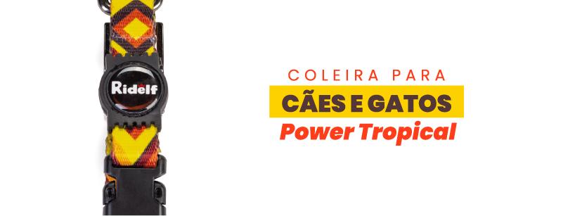 Coleira Power Militar Tropical
