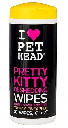 Lenços Umedecidos Para Gatos - Pretty Kitty Pet Head
