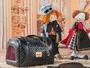 Bolsa de Transporte para Cachorro e Gato - Modelo Veneza